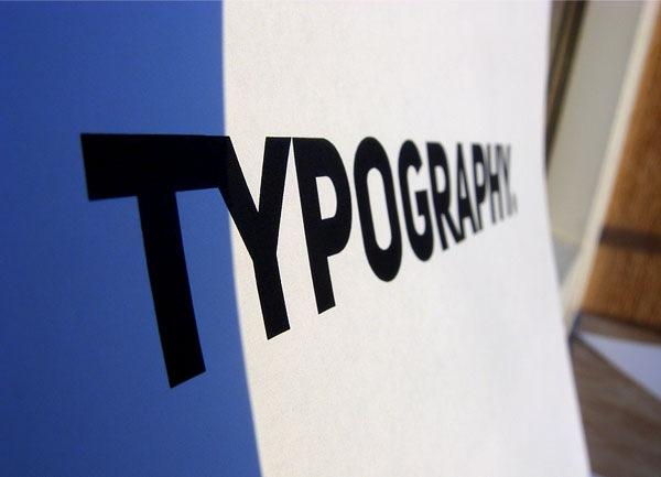 простая типографика