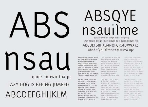 красивый латинский шрифт