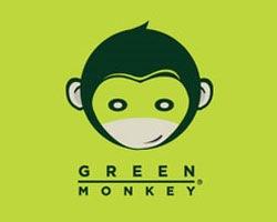 зеленая обезьяна