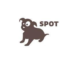 изображение собаки на лого
