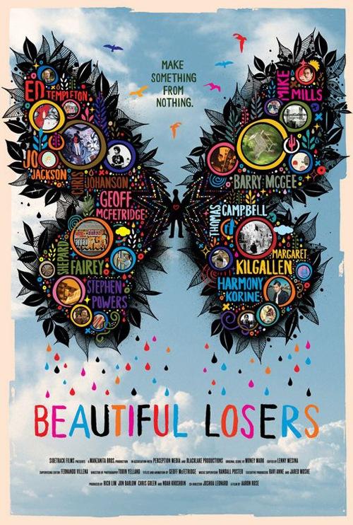 яркие креативные иллюстрации на постере