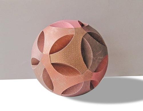 объемный бумажный шар