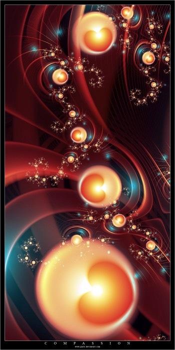яркие фрактальные элементы