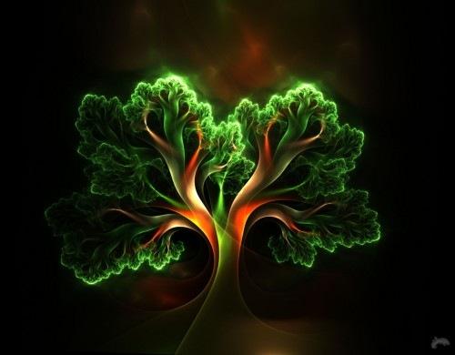 фрактальное дерево