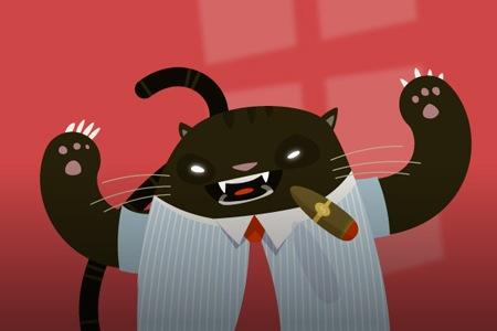 Как создать иллюстрацию с изображением делового толстого кота