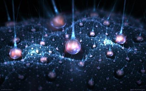 фрактальные капли воды
