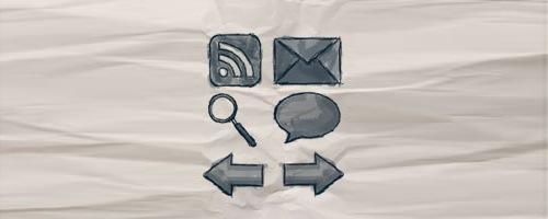 Набор иконок для блогов