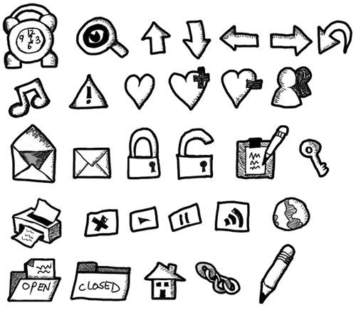Иконки наброски