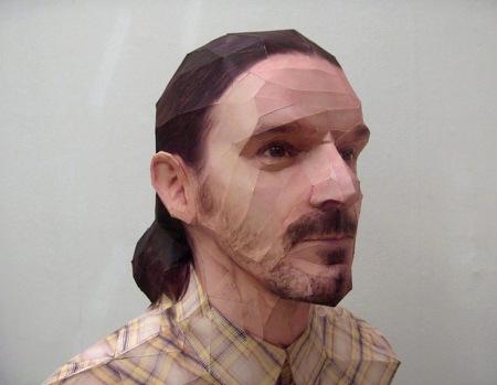 реалистичные бумажные скульптуры