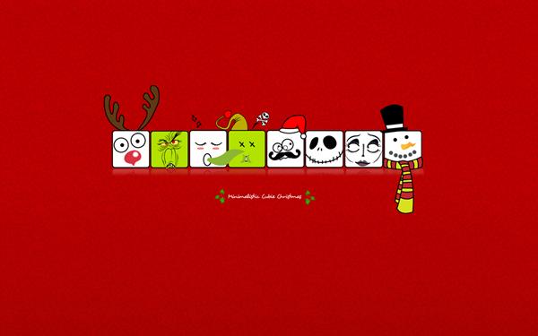 Забавные новогодние мордашки