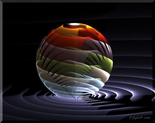 фрактальный шар