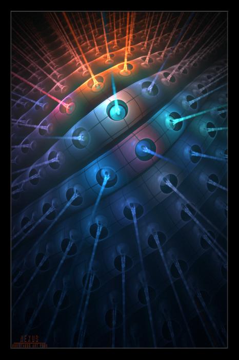 фрактальные лучи