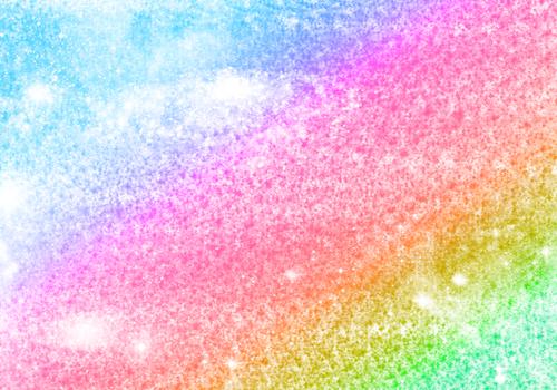 радужные брызги краски