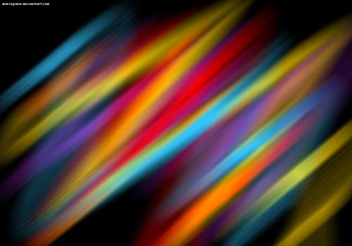 текстура с абстрактными радужными линиями