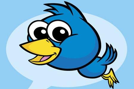 Создайте векторную иконку птички Twitter в Иллюстраторе