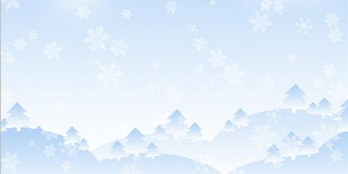 Зимняя картинка, туториал для Фотошопа