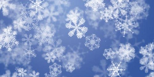 Снежный туториал для Фотошопа и Иллюстратора
