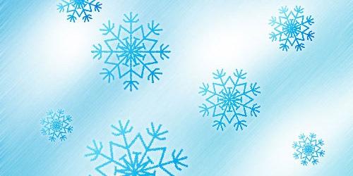 Создайте снежинки