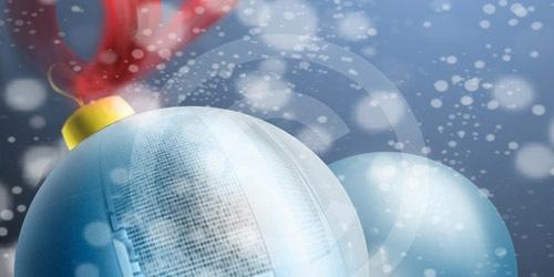 Как создать новогодние обои или фон