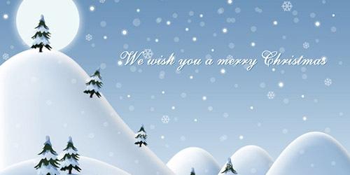 Иллюстрация с рождественскими пожеланиями
