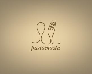 лого в виде столовых приборов