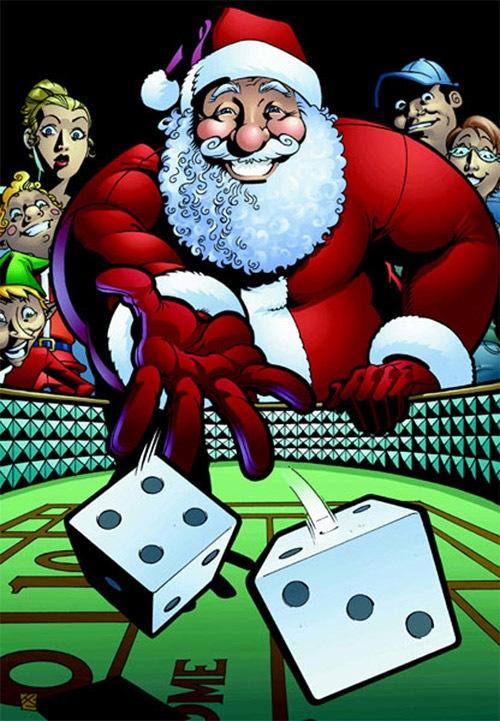 Азартный Санта