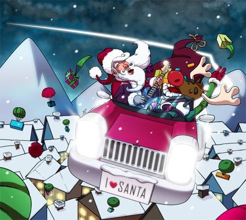 Крутой Санта