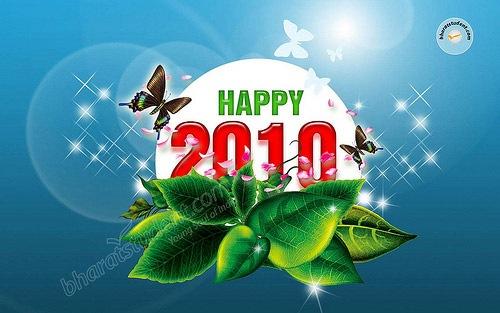 Новогодние обои 2010