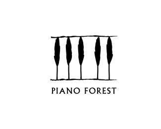 клавиши фортепиано из деревьев