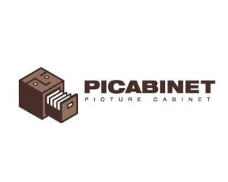 лого в коричневых тонах