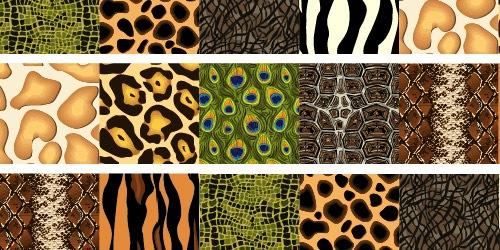 10 паттернов на тематику животных
