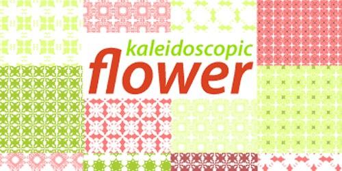 16 цветочных паттернов для Иллюстратора