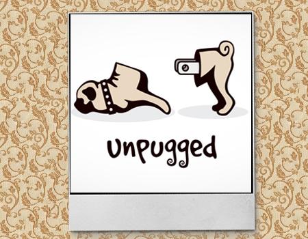 логотип в виде собаки