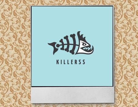 иллюстрация рыбного скелета