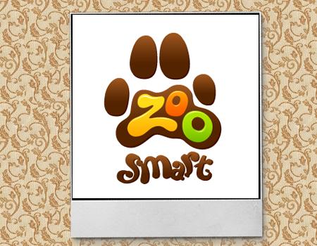 иллюстрированный дизайн лого