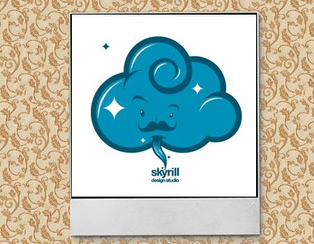 облако в лого