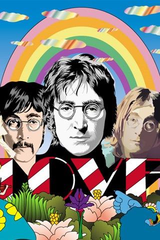 векторные обои The Beatles