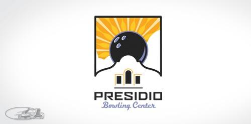 лого для боулинг-центра