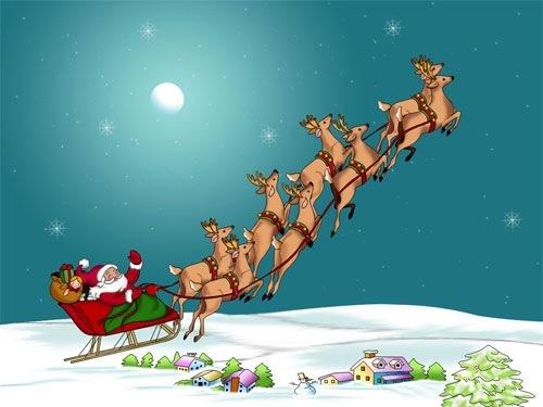 Путешествующий Санта