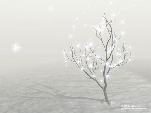 Звезды на новогоднем дереве