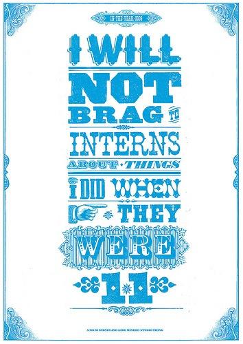 Типографический постер в стиле кантри
