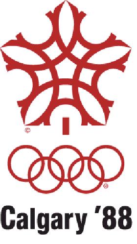 логотип олимпиады зимних игр 1988