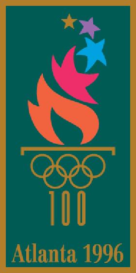 логотип олимпиады 1996