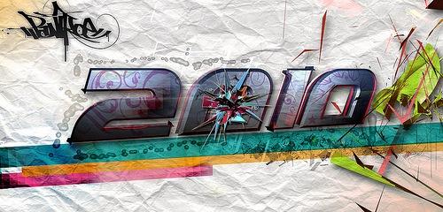 типографический постер в стиле гранж
