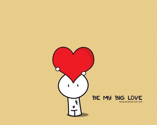 Будь моей большой любовью