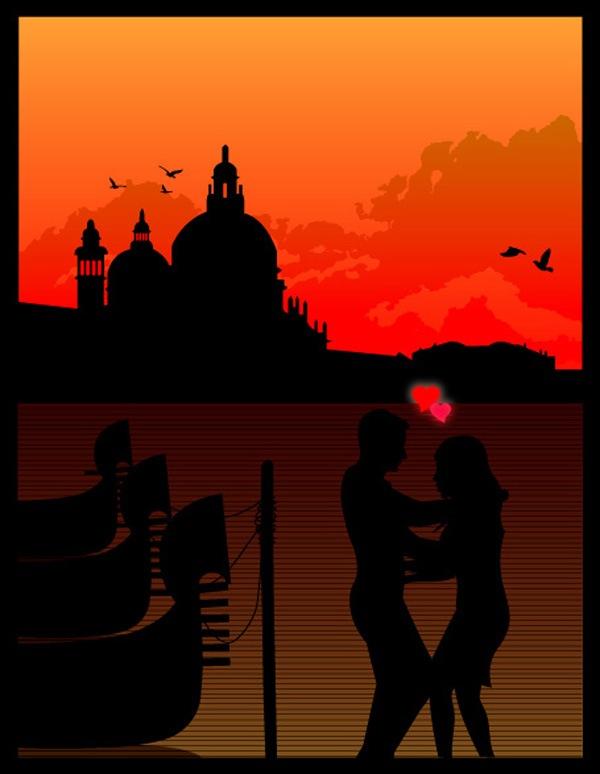 День Валентина в Венеции