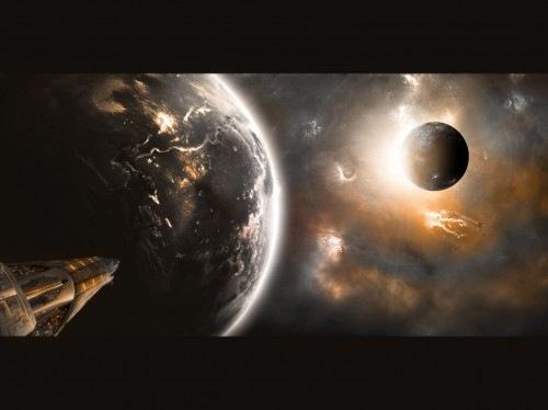 космические галактики
