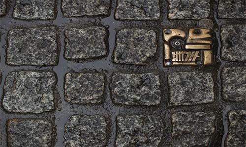 Тротуарная брусчатка в Амстердаме