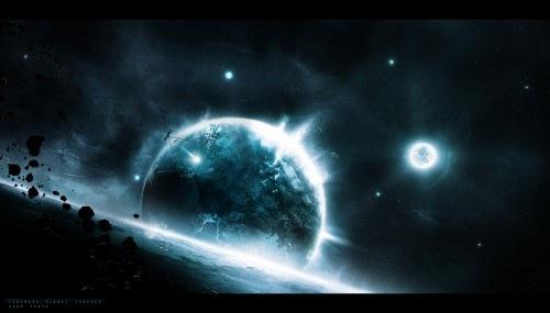 мертвый космический простор