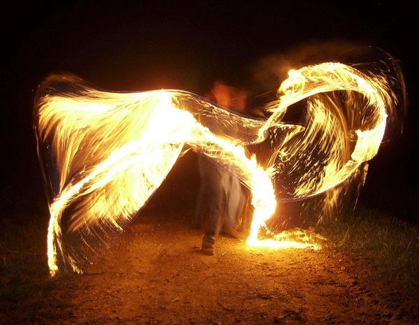 Огненные крылья